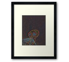 SteamPunk Submersible Framed Print