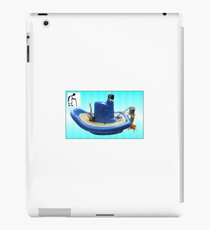 Child's Toy Boat RC conversion iPad Case/Skin