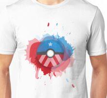 Marvel's Captain America - Pokeball - Abstract Unisex T-Shirt
