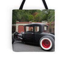 1930 Ford 'Fifties Style' Hot Rod Coupe Tote Bag