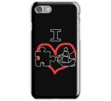 I Puzzle Ship  iPhone Case/Skin