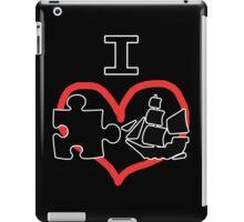 I Puzzle Ship  iPad Case/Skin
