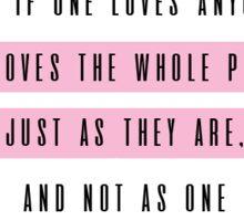 I Always Loved You, Anna Karenina Sticker