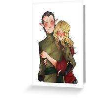 Hug Greeting Card