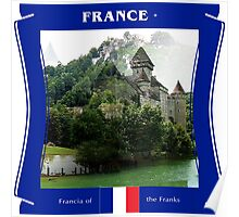France - Francia Of The Franks Poster