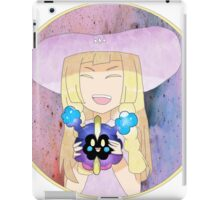 Lillie and Nebby  iPad Case/Skin