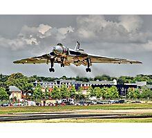 Vulcan To The Skies Landing - Farnborough 2014 Photographic Print