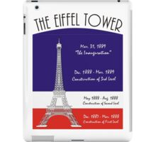 The Rise of  Eiffel Tower  iPad Case/Skin
