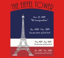 The Rise of  Eiffel Tower  Kids Clothes