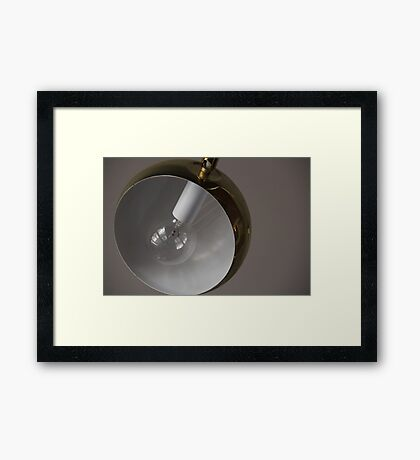 dumb lamp Framed Print