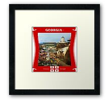 Georgia - Virtuous Strength Framed Print