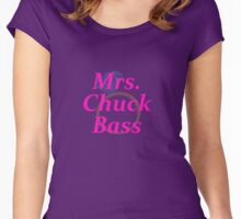 Mrs. Chuck Bass Women's Fitted Scoop T-Shirt