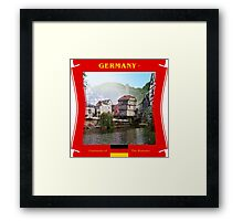 Germany - Germania of The Romans Framed Print