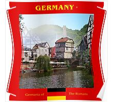 Germany - Germania of The Romans Poster