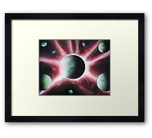 Galaxy Connection Framed Print