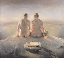 Summit by Odd  Nerdrum