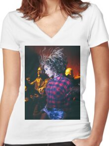 FLAWLESS*** Women's Fitted V-Neck T-Shirt