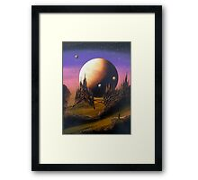 The Lonely Astronaut Framed Print