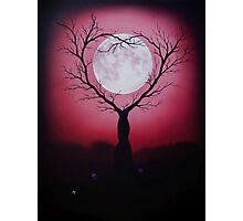 Eve of a Lover's Moon Photographic Print