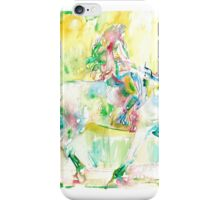 GIRL MOUNTING a HORSE iPhone Case/Skin