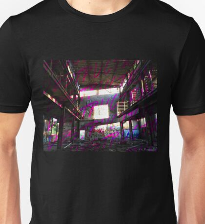 Destruction Design // Pink Unisex T-Shirt