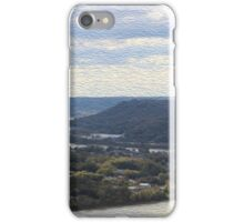 Clouds during a sunset iPhone Case/Skin