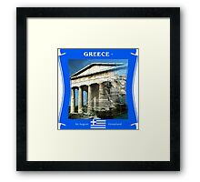Greece - An Aegean Homeland Framed Print