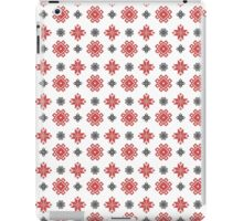 Pixel Christmas Pattern iPad Case/Skin