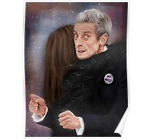 12th Doctor, not a hugging person Poster