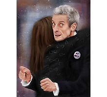 12th Doctor, not a hugging person Photographic Print