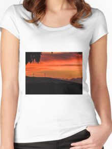wind mills2 Women's Fitted Scoop T-Shirt