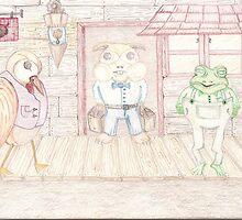 Bird , Hamster , Frog  by SteveHanna