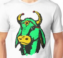 Happy Green Holy Cow  Unisex T-Shirt