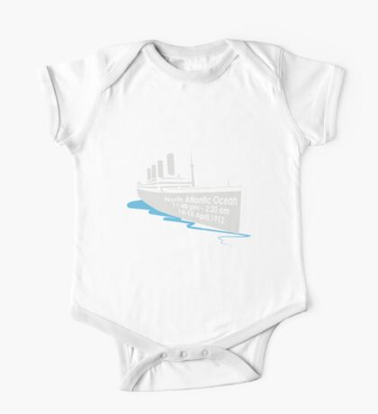 The Sinking of the Titanic One Piece - Short Sleeve