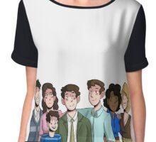 Falsettos Family Chiffon Top