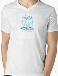 Ice Plant Mens V-Neck T-Shirt