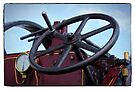Traction engine close up collection 3 by Avril Harris