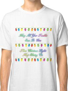Coldplay - Christmas Lights Classic T-Shirt
