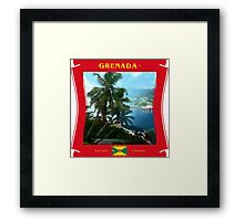 Grenada - The Volcanic Creation Framed Print