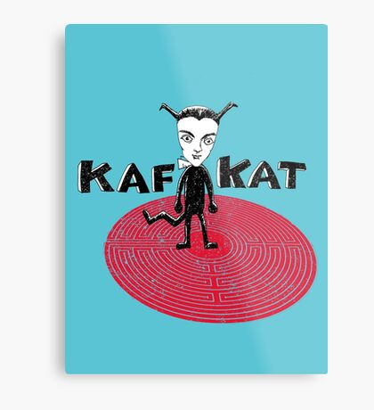 Kafka Cat Metamorphosis Metal Print
