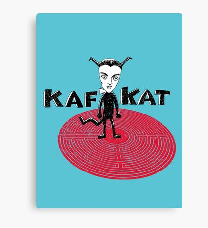 Kafka Cat Metamorphosis Canvas Print