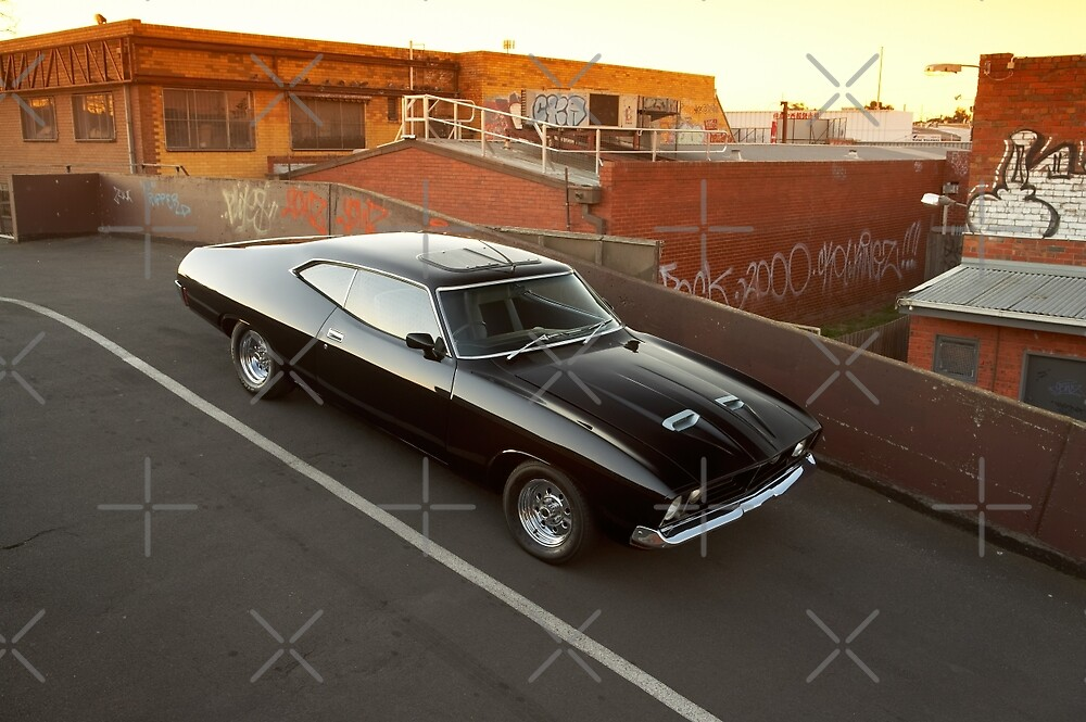 Black Ford XA Coupe by John Jovic
