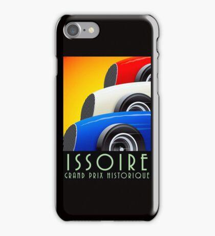 ISSOIRE; Vintage Grand Prix Auto Print iPhone Case/Skin
