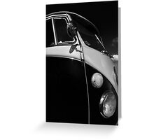 VW Split Screen camper / bus Greeting Card