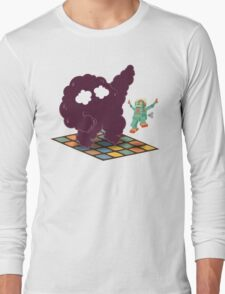 Emoc getting into the groove Long Sleeve T-Shirt