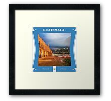 Guatemala - The Land Of Forests Framed Print