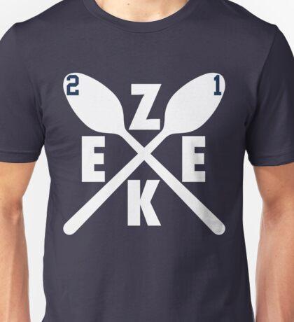 Zeke Spoons (White) Unisex T-Shirt