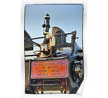 Traction engine close up collection 5  Poster