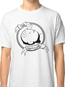 So HAMsome - Black Classic T-Shirt