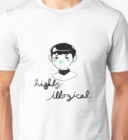 highly illogical Unisex T-Shirt